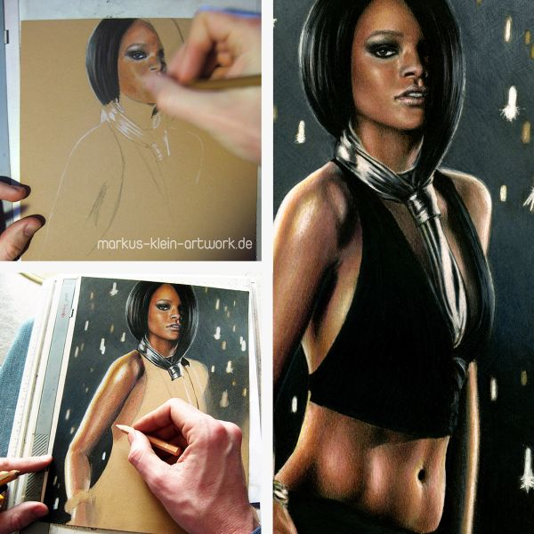 Rihanna Wip Collage