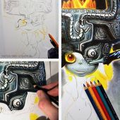 Midna WIP Collage
